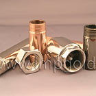 Equipo para galvanica. El cobre chapado en acero. electroquímica de níquel metal cromado